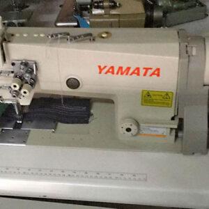 Doble-aguja-casi-nueva-yamata